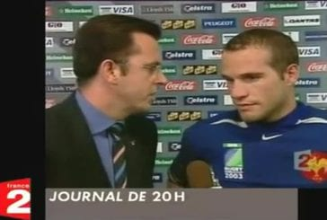 Question incompréhensible d'un journaliste à un rugby man
